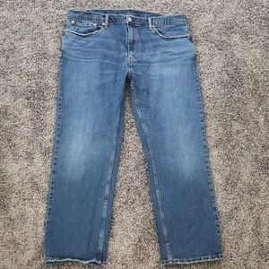 Levis 559 Mens Jeans Relaxed Fit Blue Jeans 40x30
